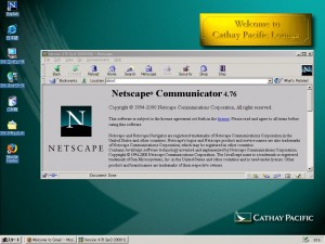 Netscape at Cathay