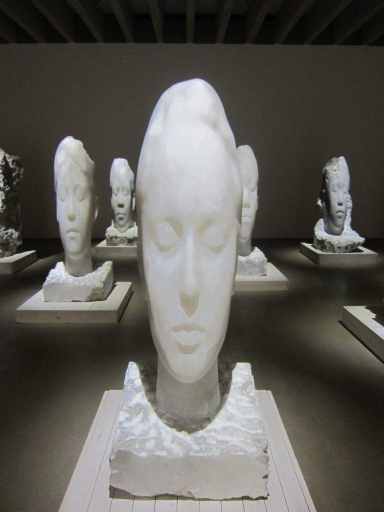 alabaster heads
