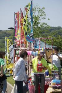 Stalls at the Matsuri