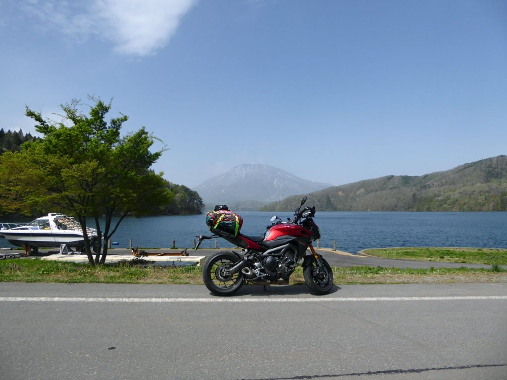 The way back from the Japan Sea Coast on the Yamaha Tracer